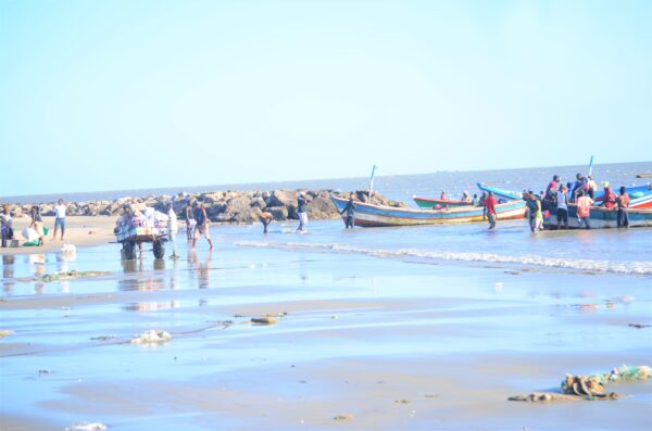 Fishermen in Beira, Mozambique