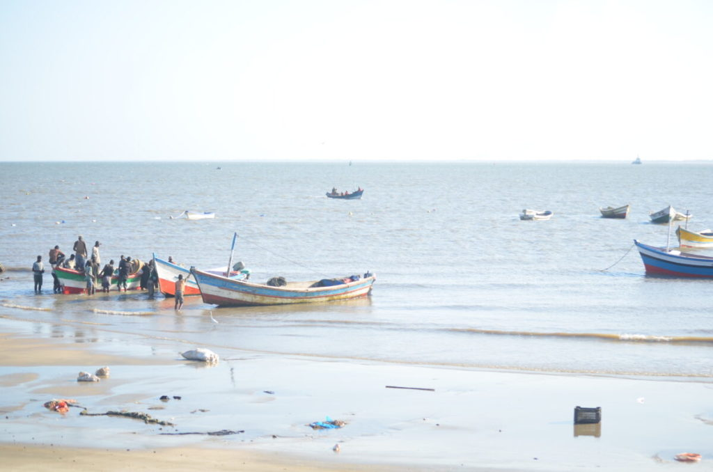 fishing in Beira, Mozambique